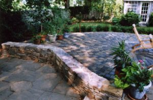 Cole Landscapes LLC Stone Wall