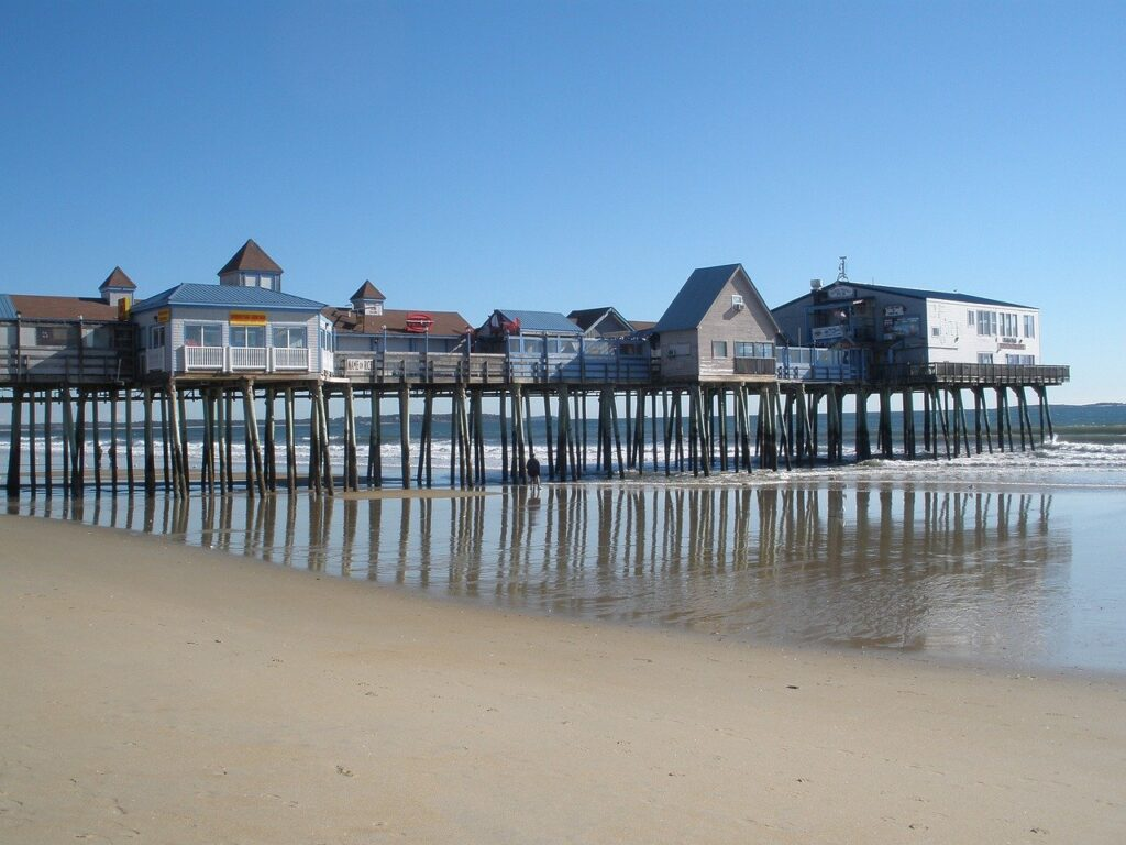 Old Orchard Beach Maine Pier